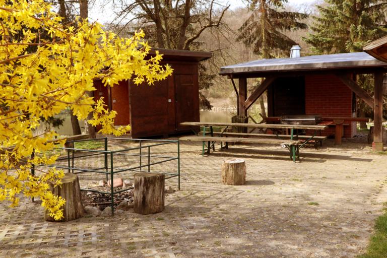 Hinterste Mühle Grillplatz Schullandheim